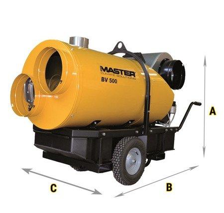 Nagrzewnica olejowa Master BV 500 13CR