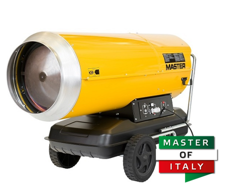 Nagrzewnica olejowa Master B 360 + termostat TH5 10-metrowy