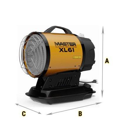 Promiennik olejowy Master XL 61